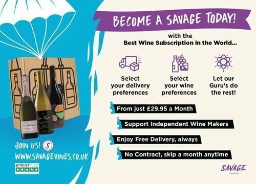 Savage Vines | Monthly Wine Subscription