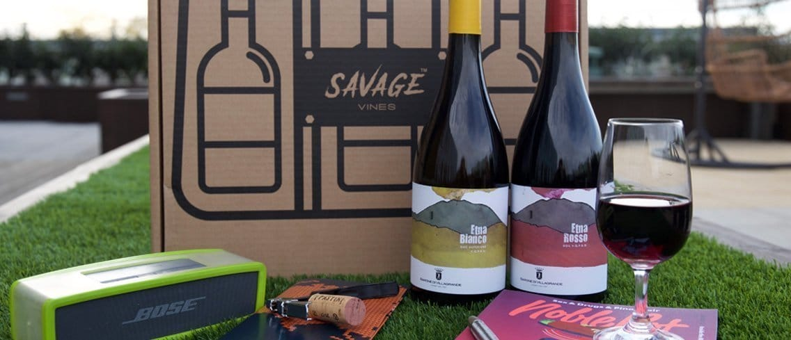 Savage Vines Wine Subscription