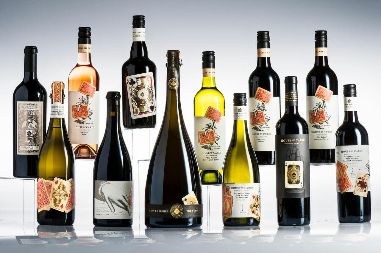 House of Cards - Western Australian wines - UK Supplier Savage Vines