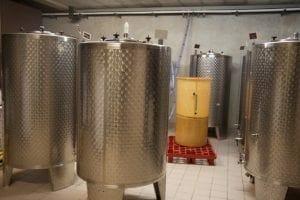 Tank fermentation - Savage Vines