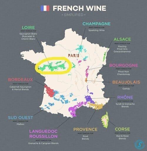 Top 3 Loire Valley Wines 2018