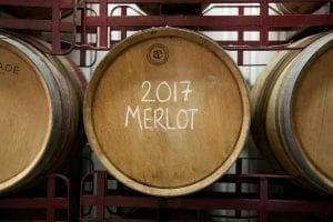 Top 3 Urban Wineries London - 2017 Merlot - Wine Barrels