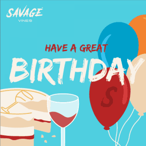 Wine Gift Card - Birthday Wine Gift Card - Savage Vines