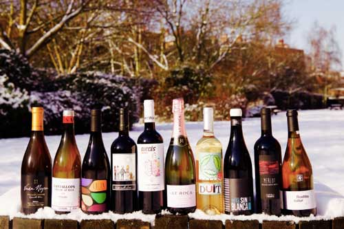 Wine in the snow | Savage Vines blog