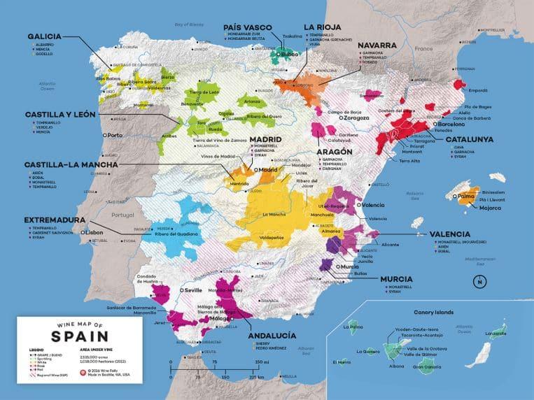 Spainish Wine Regions