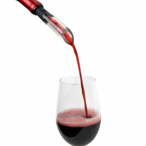 Vinturi on bottle wine aerator