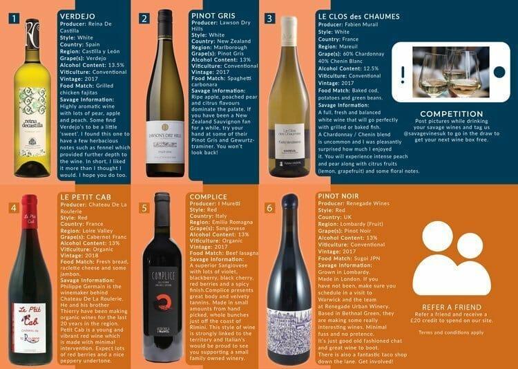 Wine Subscription UK | Savage Vines