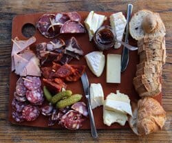 Wine Tasting Event | Cheese & Charcuterie board
