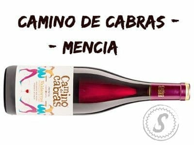 Camino De Cabras Mencia Wine Spanish red wine |