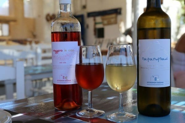 Mykonos Vioma | White and Rose Wine