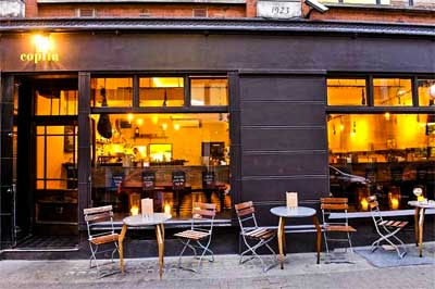 albarino wine list | best london restaurants soho | copita