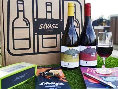 wine subscription | online store | savage vines