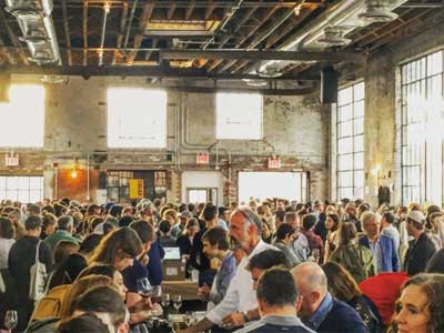 raw wine fair | isabelle legeron | new york city