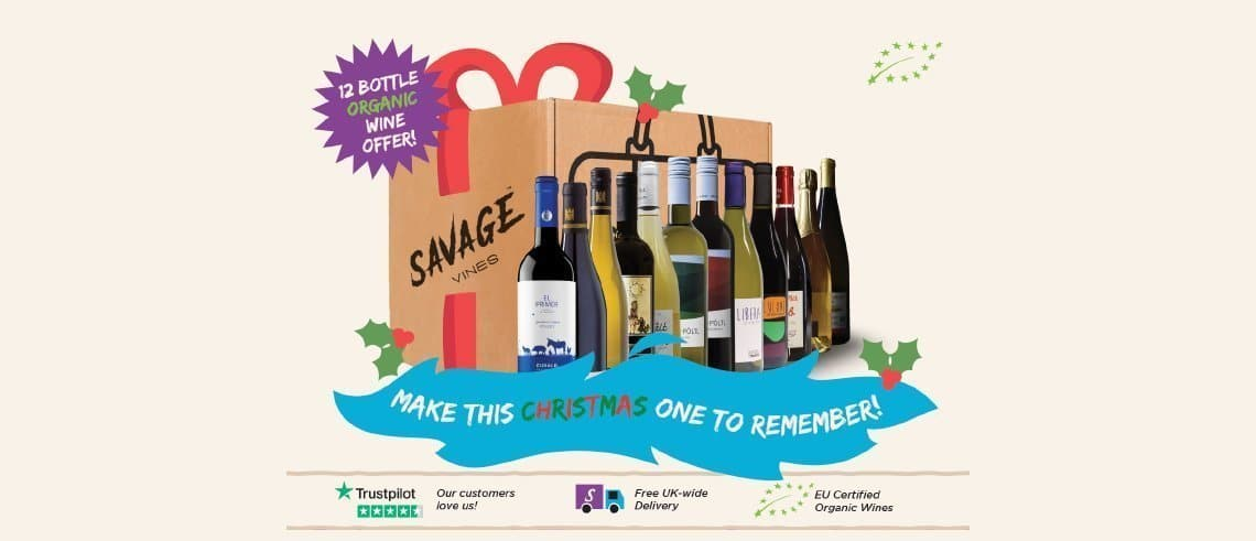Mixed Case Of Organic Wine Offer | Savage Vines