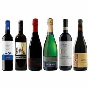 Christmas Red Wines | Six Bottles