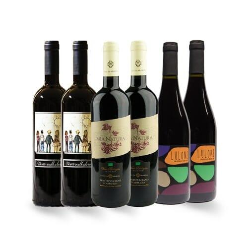 Italian Organic Red Wine | Savage Vines Wine Delivery