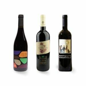Organic Italian Wine Selection