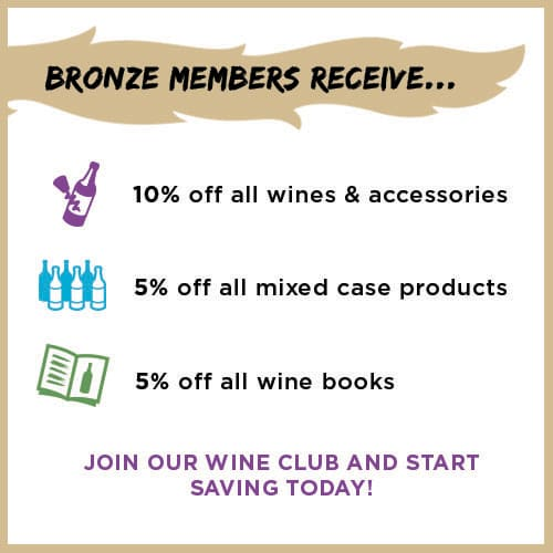 Bronze Wine Club Discount