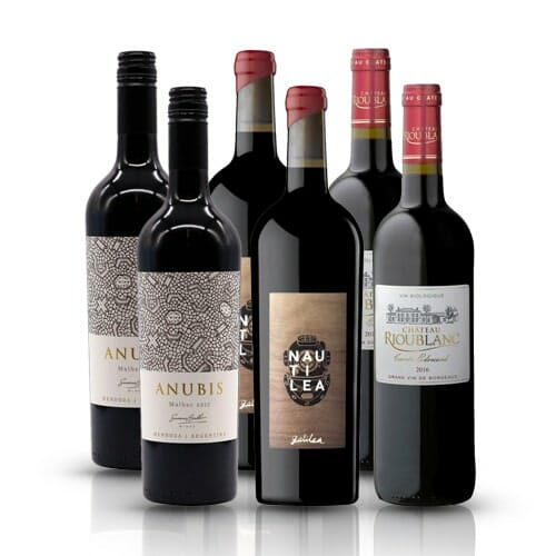 Classic Red Wine Selection