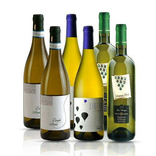 Italian White Wine Selection