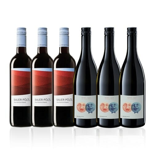 Mixed Case Austrian Red Wine