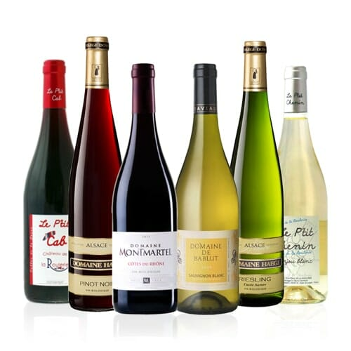French Organic Wine Selection