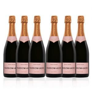 Harrow and Hope Rose Brut - 6 Bottle Case