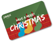 Wine Gift Card Christmas UK