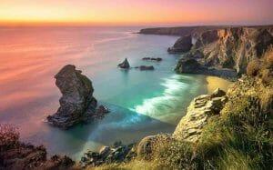 Cornwall Seaside in Autumn
