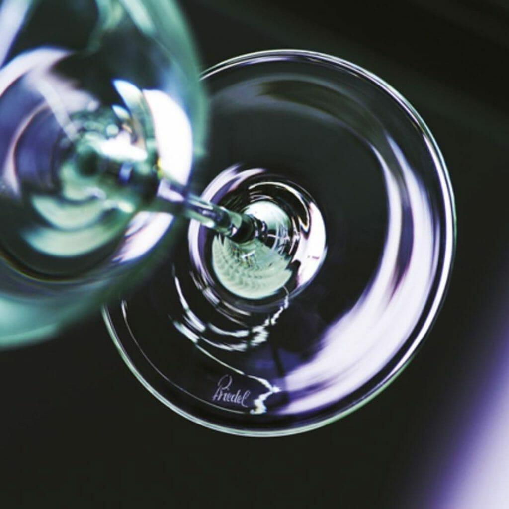 Riedel Wine Company Trademark on a Riedel Glass