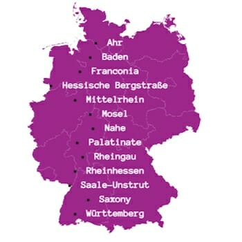 All 13 German Wine Regions