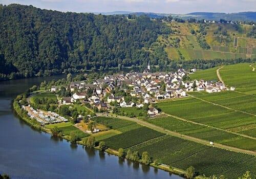 Minheim - home to Weingut Scholtes Vineyard