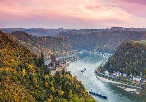 River Rhine Rheinhessen