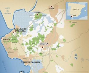 Jerez Map