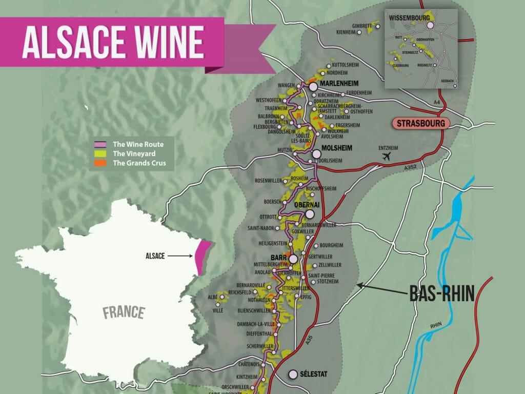 Alsace Wine Region France
